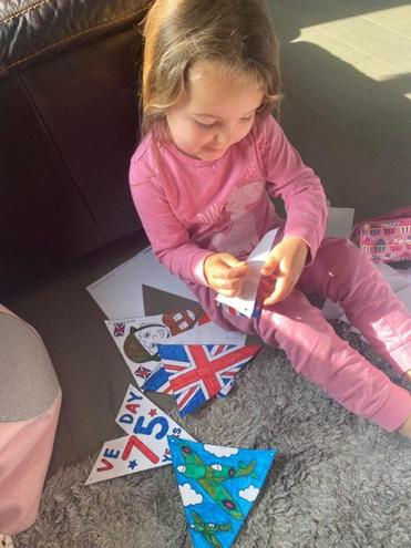 Lacey's VE Day