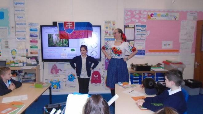 Year 3/4 Pupil/parent presentation- Slovakia