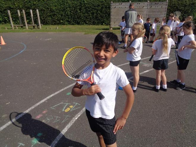 Tennis workshop KS1