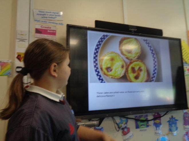 Year 5 pupil presentation- Portugal
