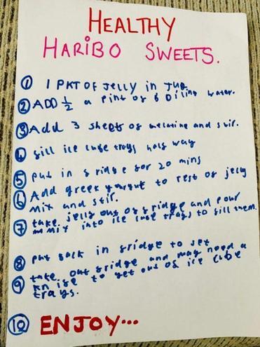 Blue's Healthy Haribo
