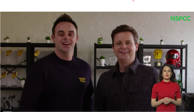As the NSPCC are unable to get into schools, they have recruited Ant and Dec to spread the