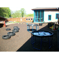 This is our large outdoor learning environment!