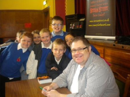 Some of 5/6 B with Tommy Donbavand.