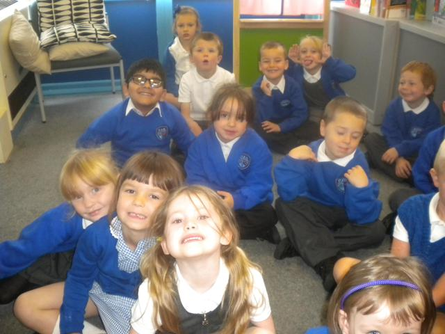 Here we are back at school!