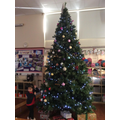 Dressing the big tree in the hall