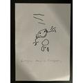 I drew a firefighter