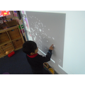Snowy day pictures on the Interactive Whiteboard