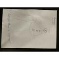 I drew a snowman