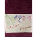 I drew my family