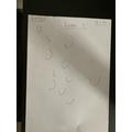 Writing letter c