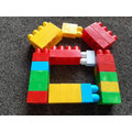 I made a house from megablocks