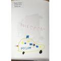 I drew a Police car