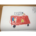 I drew a fire engine