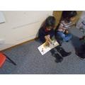 Enjoying our favourite books
