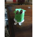 I made a frog.