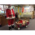 A visit from Santa!!