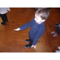 We enjoyed dancing in the hall