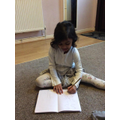 Writing letter s