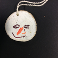 Santa tree cookie