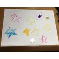 I drew stars