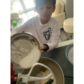 Iyaz has been busy baking too!