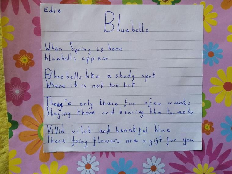 Edie has written a lovely poem.