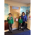 Mrs Taylor with our great readers in Spring.