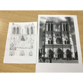 Wonderful sketch of the Notre Dame Cathedral