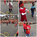 Red Nose and spoon race