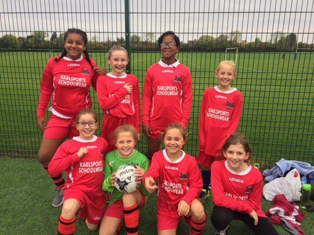 Year 5/6 girls football team