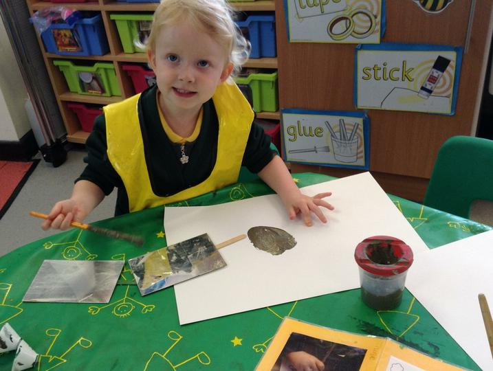 We have been painting pictures of ourselves