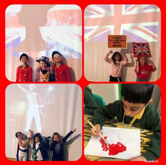 Whole school British Values assembly presented by Year 2