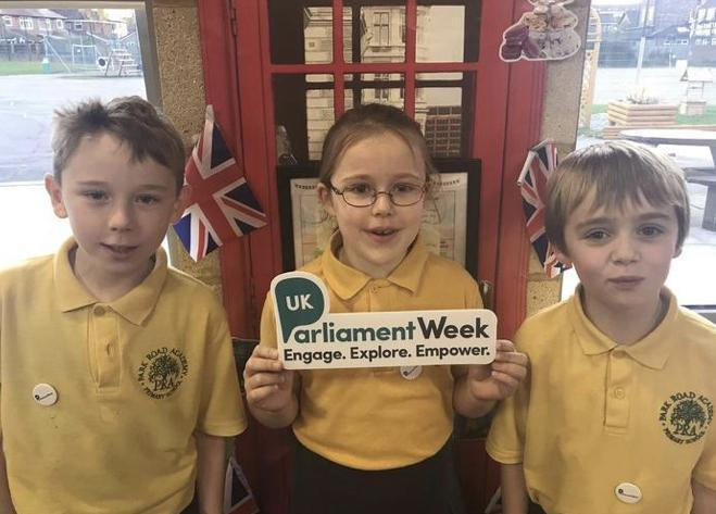 Learning about Parliament and engaging in debate during UK Parliament Week
