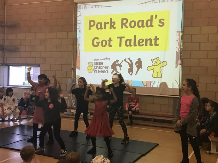 School talent show presented by the School Council