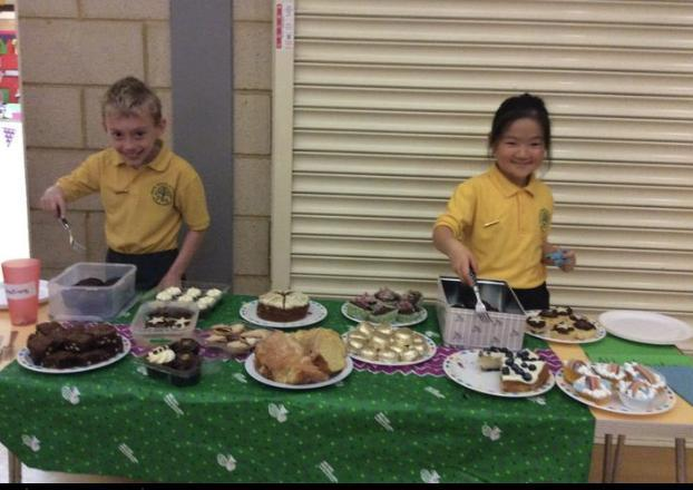 Hosting a Coffee Morning for pupils and parents to support Macmillan