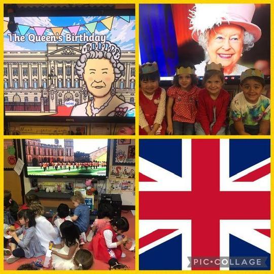 Queen's birthday celebrations in Nursery
