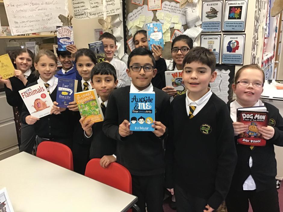 Enjoy the new books we raised money for