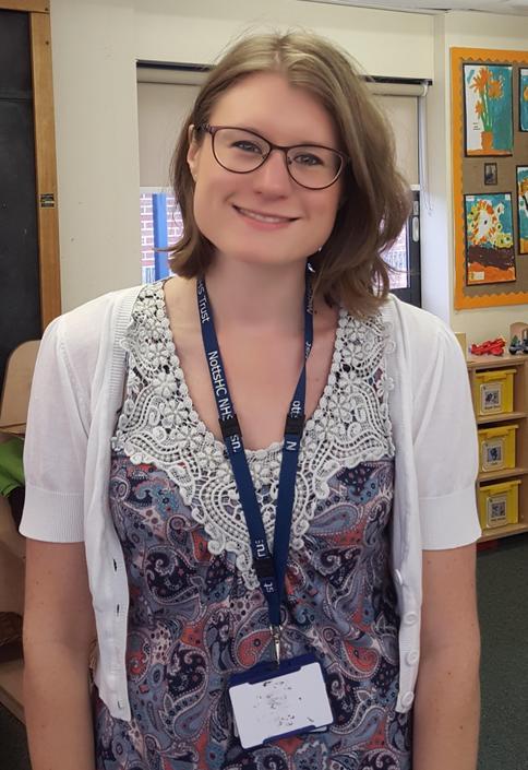 Mrs Harris- Speech and Language Therapist