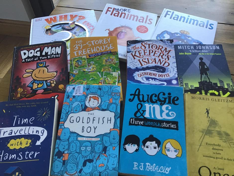 New books bought by the children themselves