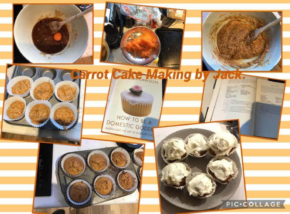 Jack's carrot cake medley