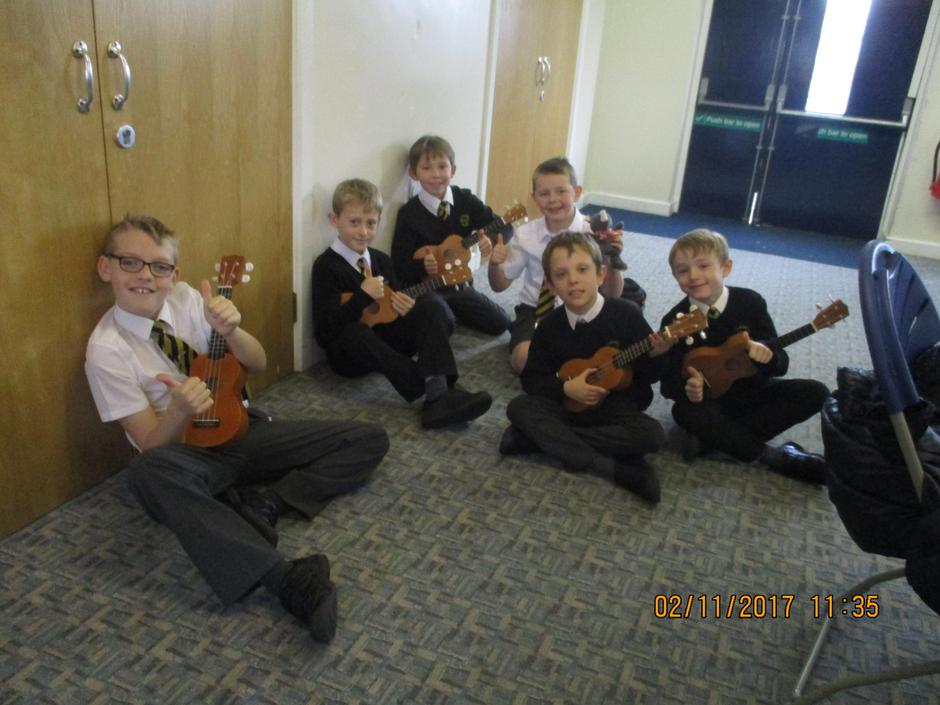 Time to share and explore our ukulele skills!