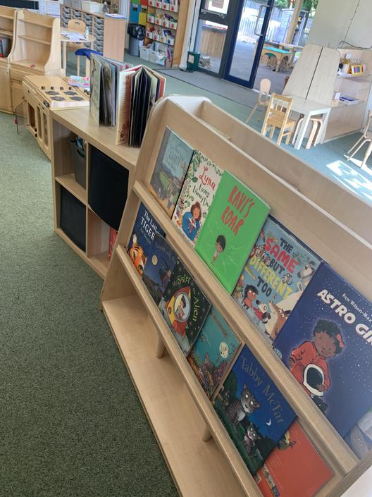 There are lots of books to choose from!