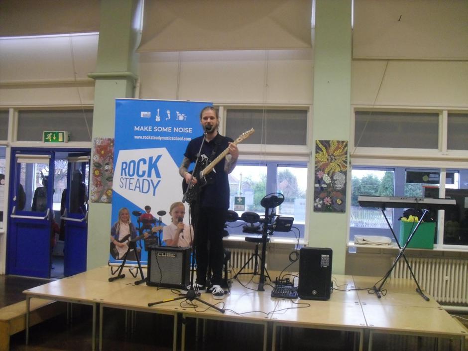 Rock Steady assembly- live performance!