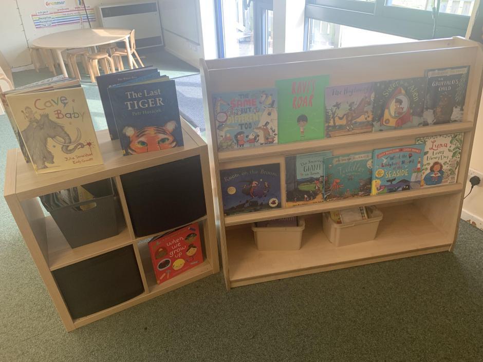 Our book corner.