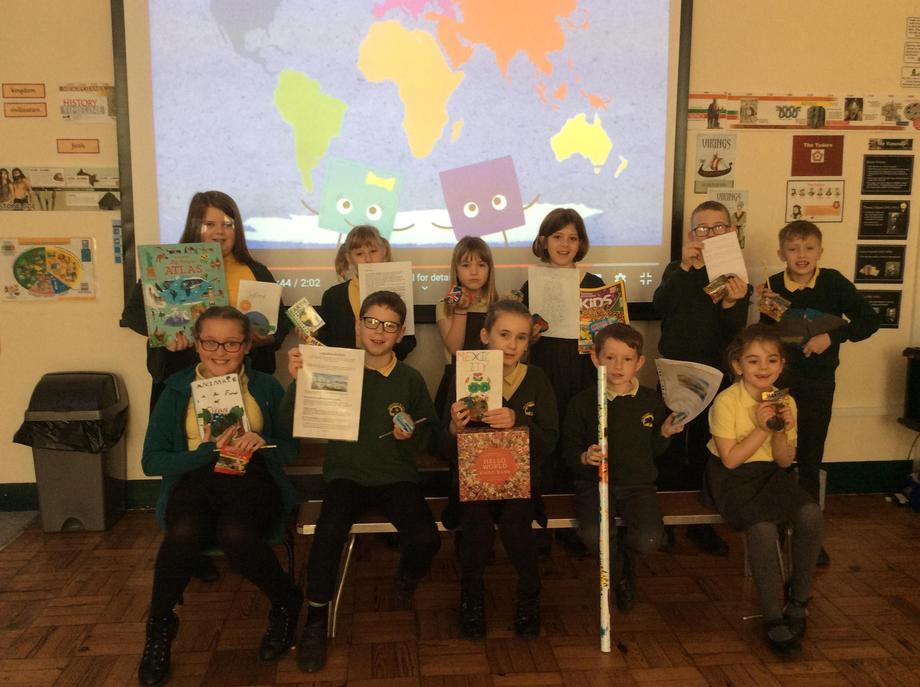 Winners of the Parkend 2019 Cross Curricular Geography Writing Competition