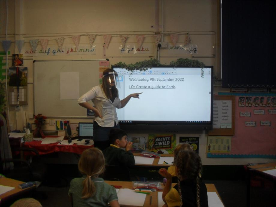 Learning with Mrs. Cooper