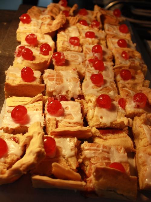 Week 2 Monday Nut free Bakewell Tart