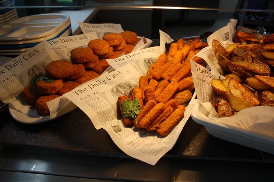 Week 2 Friday Fish Cake or Vegan Fish Fingers