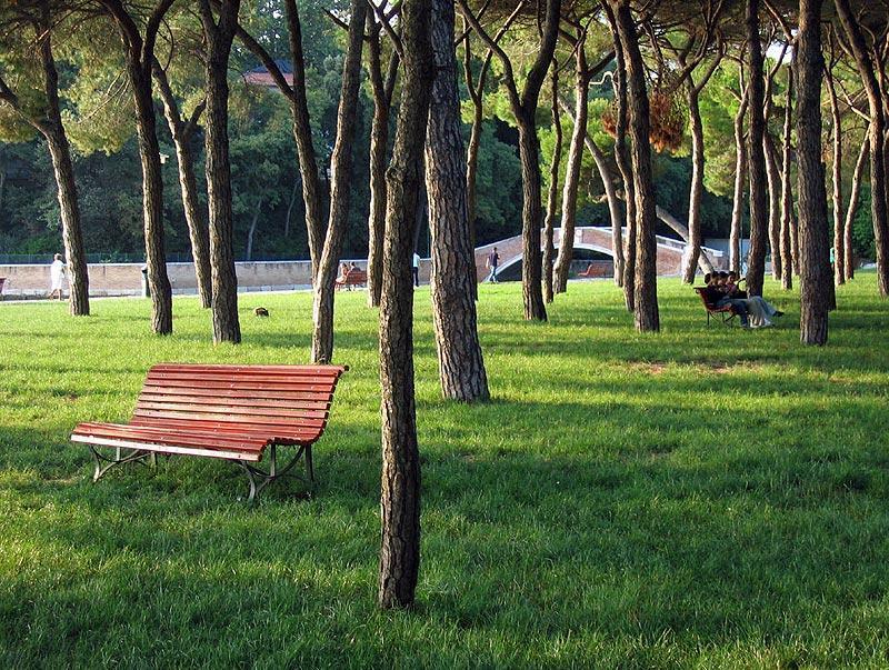 A park in Venice
